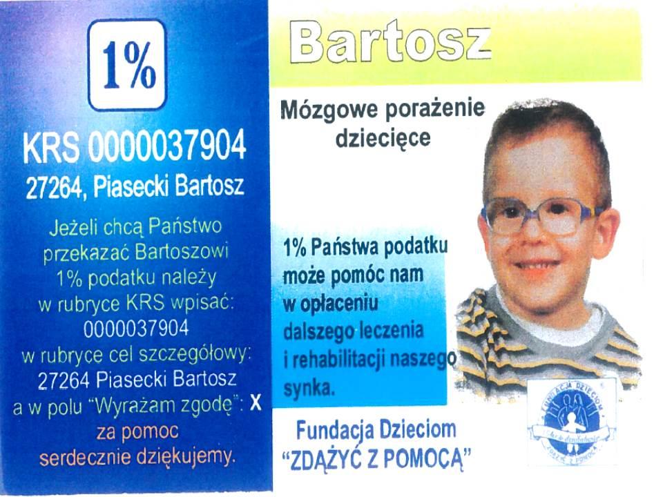 Pomoc dla Bartka
